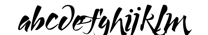 Lucky Dream Font LOWERCASE