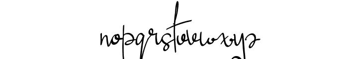 Lucya Josephine Font LOWERCASE