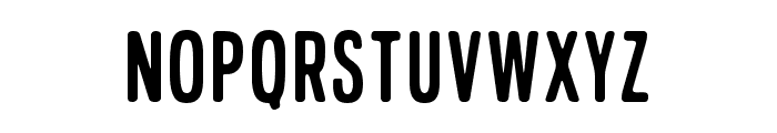 LucynaSans Font UPPERCASE