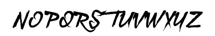 Lunare Font UPPERCASE
