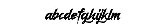 Lunare Font LOWERCASE