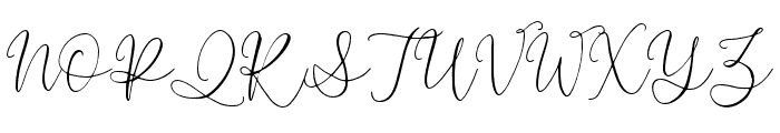Lussia-Regular Font UPPERCASE