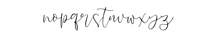 Lussia-Regular Font LOWERCASE