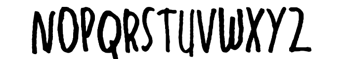 Luv Luv Font UPPERCASE
