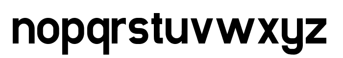 Luxima Bold Font LOWERCASE