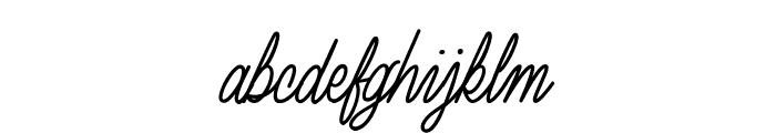 Luxury Quality Font LOWERCASE