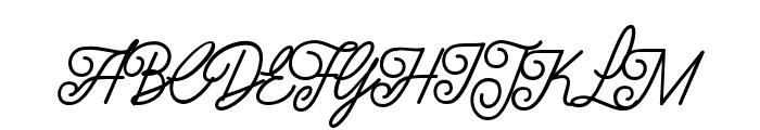 LuxuryQuality Font UPPERCASE