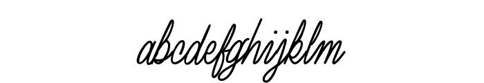 LuxuryQuality Font LOWERCASE