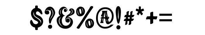 MAFIA Font OTHER CHARS