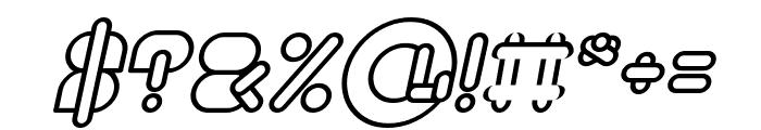 MAXIMUM KILOMETER Bold Italic Font OTHER CHARS