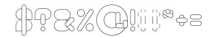 MAXIMUM KILOMETER-Light Font OTHER CHARS