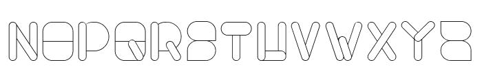 MAXIMUM KILOMETER-Light Font UPPERCASE