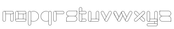 MAXIMUM KILOMETER-Light Font LOWERCASE