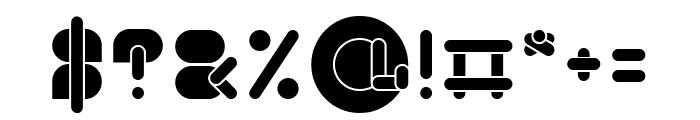 MAXIMUM KILOMETER-inside Font OTHER CHARS