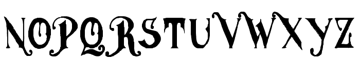 MGHVINOLIAN Font UPPERCASE