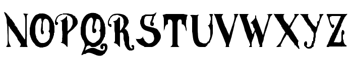 MGHVINOLIAN Font LOWERCASE