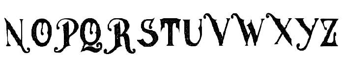 MGHvinolian-Medium Font UPPERCASE