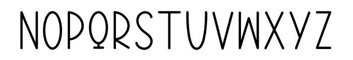 MINIMALIS HOME Font UPPERCASE