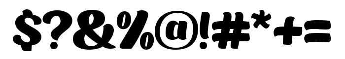 MOILGO-Regular Font OTHER CHARS