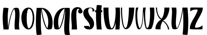 MONKEY ALONE Regular Font LOWERCASE