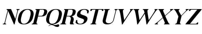 MOODERN Italic Font UPPERCASE