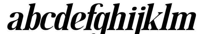 MOODERN Italic Font LOWERCASE