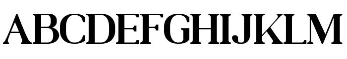 MOODERN Font UPPERCASE