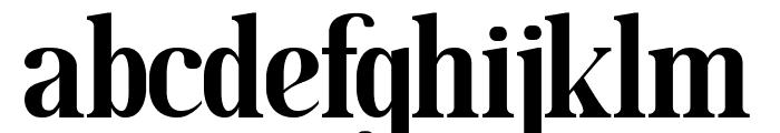 MOODERN Font LOWERCASE