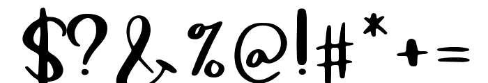 Macbarel Regular Font OTHER CHARS