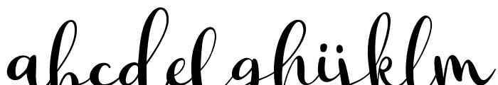 Macbarel Regular Font LOWERCASE
