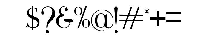 Maclucash ligature Font OTHER CHARS