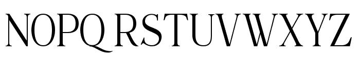 Maclucash ligature Font UPPERCASE