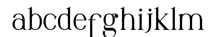 Maclucash Font LOWERCASE