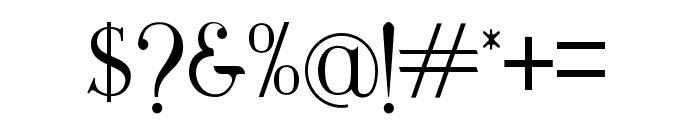 Maclucashligature Font OTHER CHARS