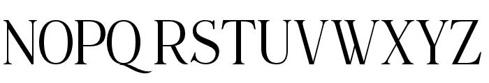 Maclucashligature Font UPPERCASE