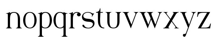 Maclucashligature Font LOWERCASE