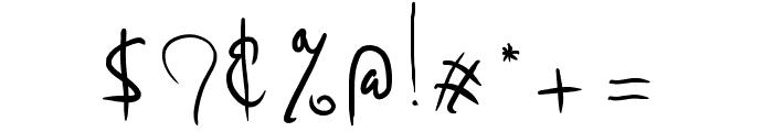 Madam Frilleug Font OTHER CHARS
