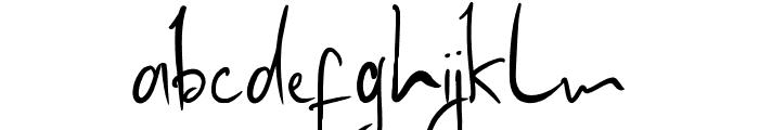 Madam Frilleug Font LOWERCASE
