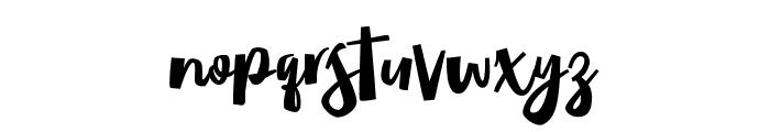 MadridCastilla Font LOWERCASE