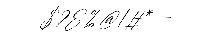 MagarellaScript-Regular Font OTHER CHARS