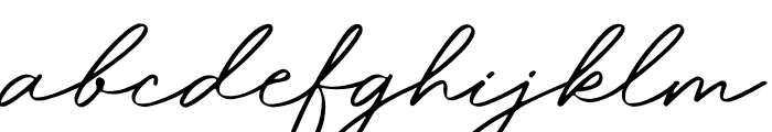 Magdallena Font LOWERCASE