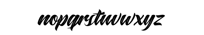 Maghrib Textured Font LOWERCASE