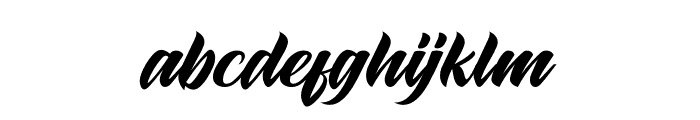 Maghrib Font LOWERCASE