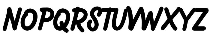 Magnatec Regular Font UPPERCASE