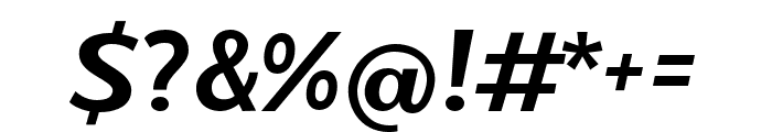 Magnetico Font OTHER CHARS