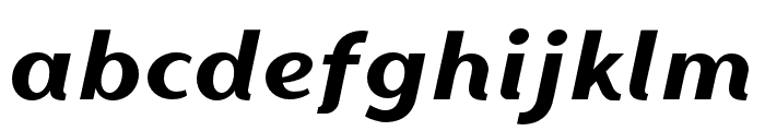 Magnetico Font LOWERCASE