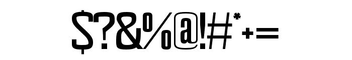 Mainal regular Font OTHER CHARS