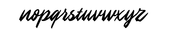 Maines Font LOWERCASE