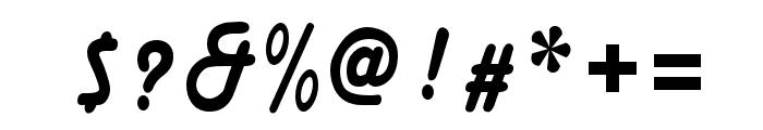 MainsainFont-Bold Font OTHER CHARS