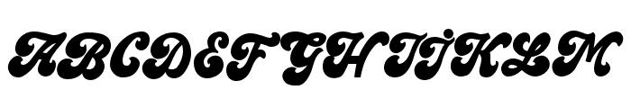 MainsainFont-Bold Font UPPERCASE